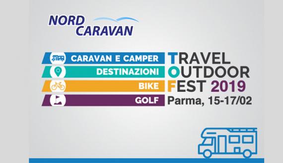 NORD CARAVAN  TRAVEL @ OUTDOOR FEST 15 - 16 - 17 FEBBRAIO 2019
